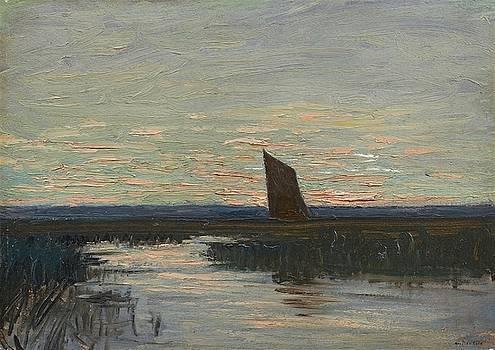 Abendstimmung by Hans am Ende