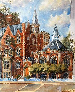 Abercorn-The Old Grammar School by David Gilmore