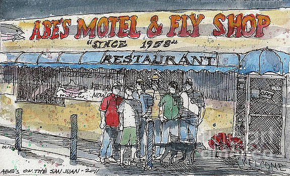 Abes Motel and Fly Shop by Tim Oliver