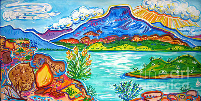 Abiquiu Lake by Rachel Houseman