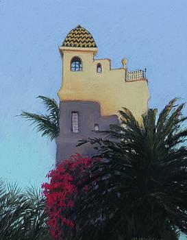 Ablitt House Sunset by Maralyn Miller