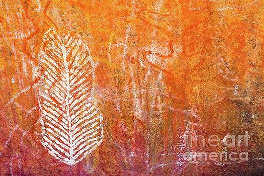 Aboriginal cave art by Andrew Michael