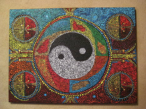 Aboriginal Dreams of Yin and Yang by Marc Sevigny