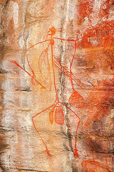 Aboriginal Rock Art -Ubirr Rock, Australia by Daniela Constantinescu