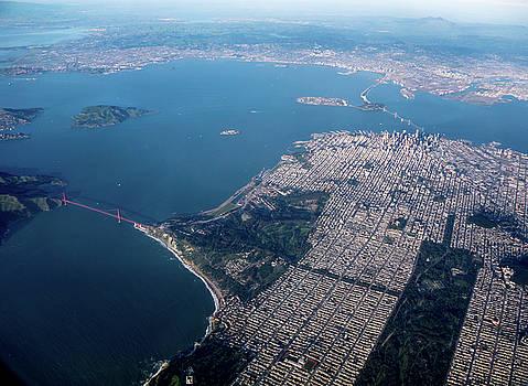 Above San Francisco, California by Randy Straka