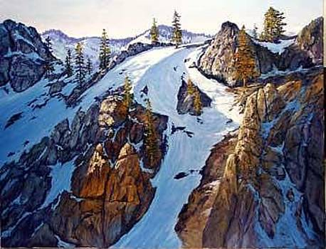 Above Squaw Valley by Donald Neff