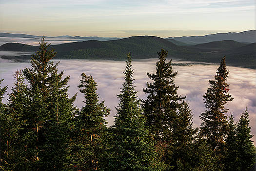 Above the Clouds by Brad Wenskoski