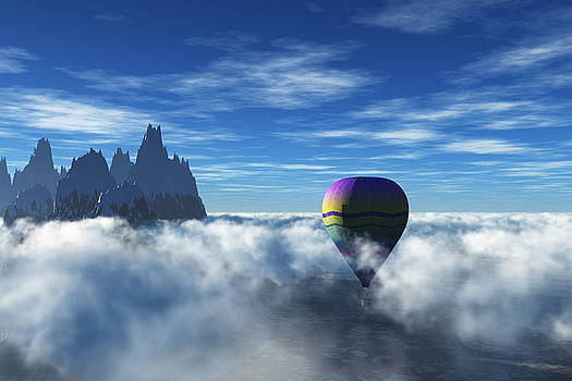 Above the Clouds by Tauno Niilo