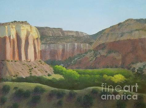 Above the Ranch by Phyllis Andrews