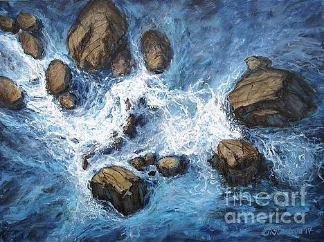 Above the rocks by Anna Starkova