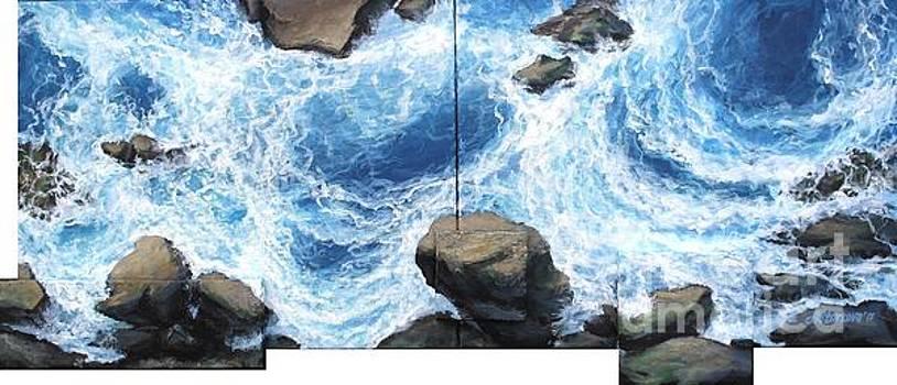 Above the rocks II by Anna Starkova