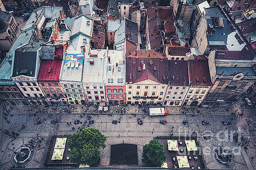 Above The Rooftops by Evelina Kremsdorf