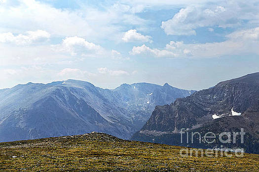 Above the Tree Line, Rocky Mountain National Park by Catherine Sherman