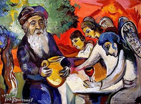 Ari Roussimoff - Abraham And The Three Angels