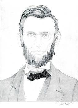 Abraham Lincolin Portrait by Bernardo Capicotto