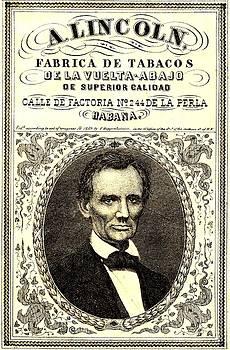 Abraham Lincoln 1859 Havana Cigar Label by Peter Gumaer Ogden