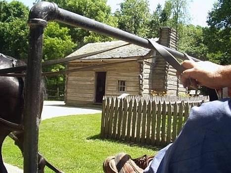 Abraham Lincoln Cabin by John Pavon