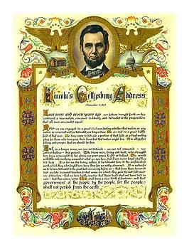 Peter Gumaer Ogden Collection - Abraham Lincoln Gettysburg Address