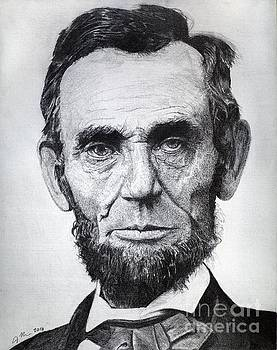 Abraham Lincoln by Jeff Ridlen
