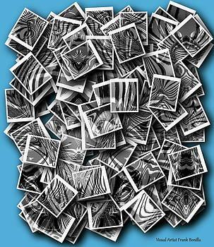 Abraxas Collage by Visual Artist Frank Bonilla