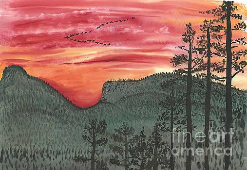Abreast Of Dawn by Victor Vosen