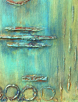 Restoration Abstract 3096-3 by Susan Harris