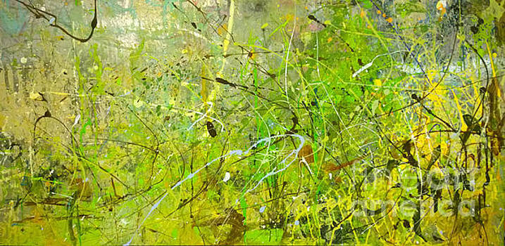Abstract #42515b or Marsh Life by Robert Anderson