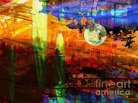 Abstract Alien Landscape by Robert Ball