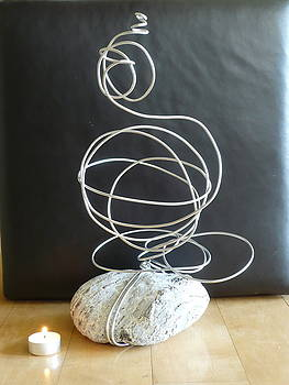 Abstract Aluminum by Live Wire Spirit
