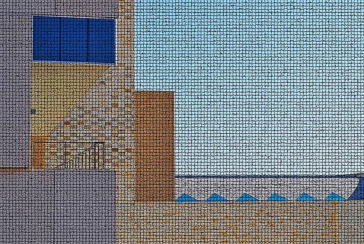 Abstract Architecture - Mosaic by Peter  McIntosh