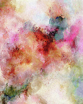 Abstract Art The Secrets Of The Heavens Above by Isabella Howard