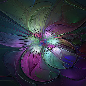 Abstract Art with bold Colors by Gabiw Art