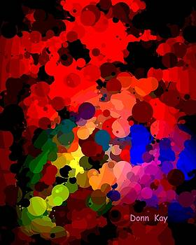 Abstract balls by Donn Kay