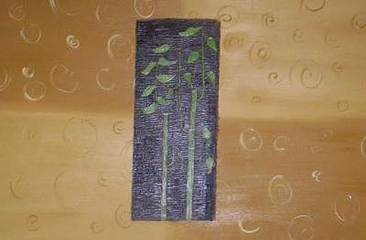 Abstract Bamboo by Becca Haney