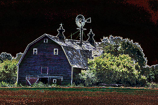 David Matthews - Abstract Barn