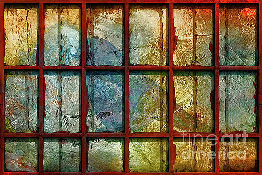 Abstract Bird B42616-1 by Mas Art Studio