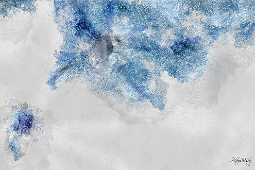 Abstract Blue by Petrus Bester
