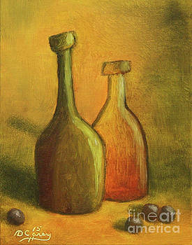 Abstract Bottles #2 by Dave Casey