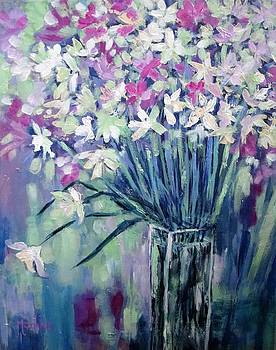 Cathy MONNIER - abstract bouquet