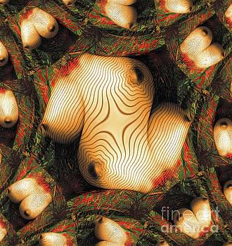 Abstract Breasts by MB by Mary Bassett