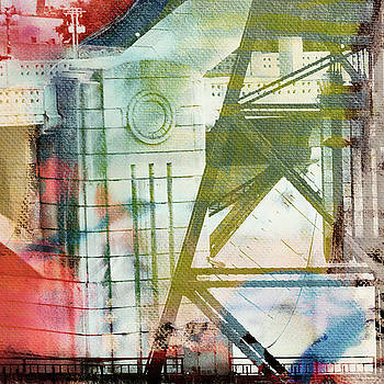 Abstract Bridge with Color by Susan Stone