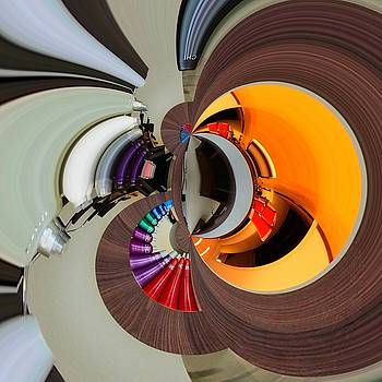Abstract bubblebarbershop by Marco De Mooy