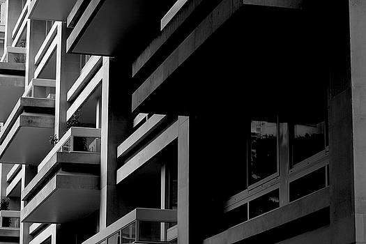 Abstract Building 1 by Milo Hale