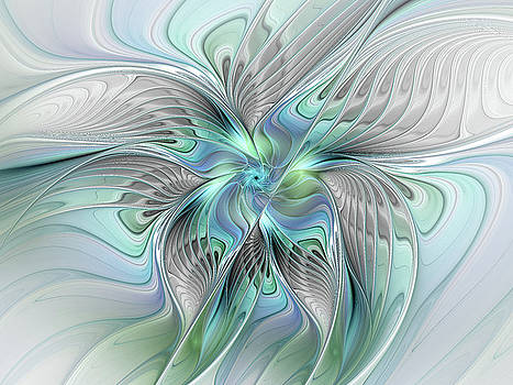 Abstract Butterfly by Gabiw Art