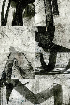 Carol Leigh - Abstract Calligraphy Collage 2