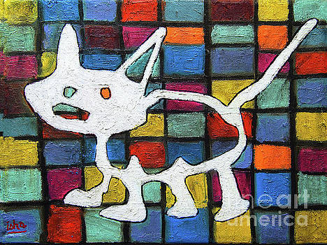 Abstract Cat by Gerhardt Isringhaus