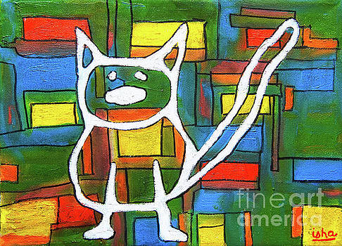 Abstract Cat II by Gerhardt Isringhaus