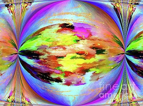 Abstract Circle by Daniel Janda