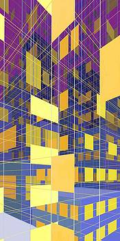 Abstract City  by Phil Vance