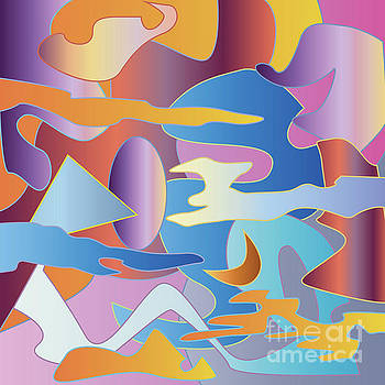 Beverly Claire Kaiya - Abstract Colorful Sky Tones Dawn Sunset Daylight Evening
